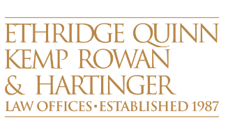 Law firm of Ethridge, Quinn, Kemp, Rowan & Hartinger